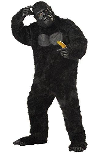 California Costumes Men's Adult-Gorilla, Black, Standard Costume ()