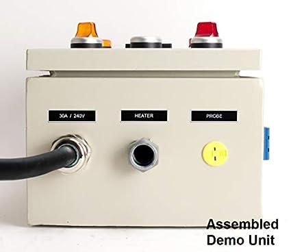 amazon com: powder coating oven controller kit, 240v 30a 7200w (kit-pco):  industrial & scientific