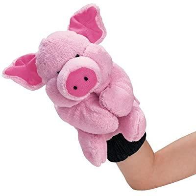 Pig Farm Animal Glove Puppet: Toys & Games