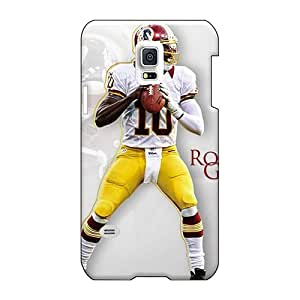 Protector Hard Cell-phone Cases For Samsung Galaxy S5 Mini (wIQ11098bmoS) Custom Fashion Washington Redskins Series