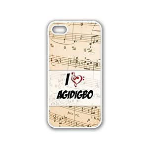 Agidigbo White iPhone 4s Case - Fits iPhone 4s