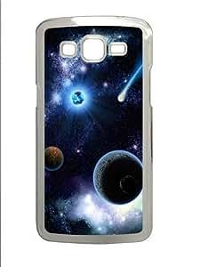 Meteor Polycarbonate Hard Case Cover for Samsung Grand 2/7106 Transparent