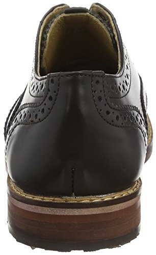 Ben Sherman Oxford, Scarpe Stringate Basse Brogue Uomo Marrone (Brown 002)