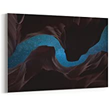 Westlake Art - Canvas Print Wall Art - Valley Fire on Canvas Stretched Gallery Wrap - Modern Picture Photography Artwork - Ready to Hang - 18x12in (*7x-960-2a4)