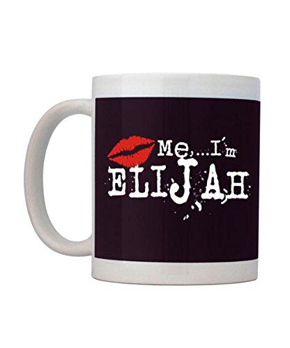 Idakoos - Kiss me, I'm Elijah - Male Names - Mug
