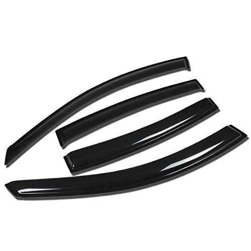 For Nissan Maxima A34 4pcs Tape-On Window Visor Deflector Rain Guard