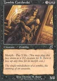 Magic: the Gathering - Zombie Cutthroat - Scourge - Foil