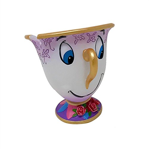 Enesco Disney Showcase Chip From beauty and the Beast Stone Resin Figurine]()
