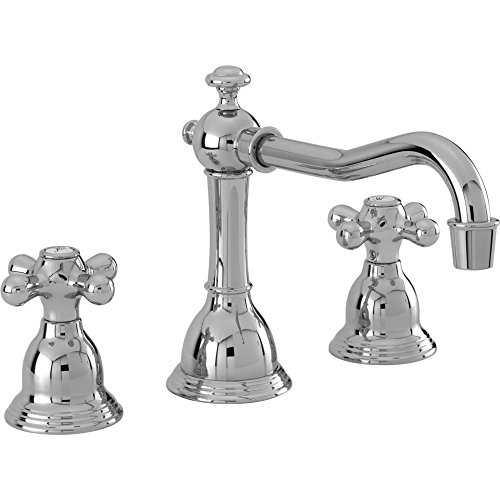 (Newport Brass 7300 Newport 365 Deck Mounted Bathroom Faucet - Free Pop Up Drain, Polished Chrome)