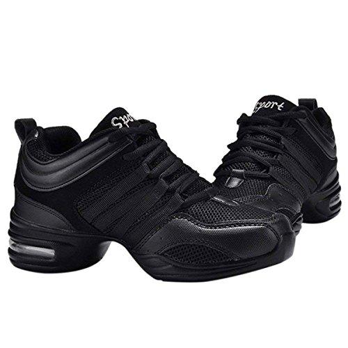 CHNHIRA Ladies Dance Dance Jazz Shoes a Dance Black Black Trainers Girls Greek Sneakers 1rUd1Xqx