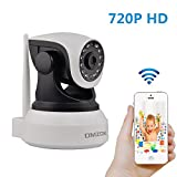 DMZOK 720P WiFi Security Camera, IP Camera, Night Vision, Two-Way Audio, Remote View On Mobile App, Video Baby Monitor, Pet Camera Review