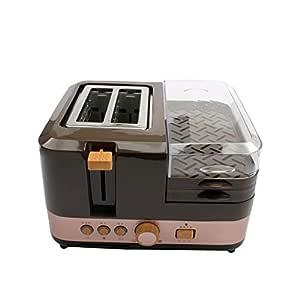 Eléctrico Multifunción Desayuno Máquina De Pan para Hornear 2 ...