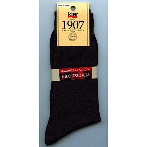 kler 6328 - calcetin hilo de escocia punto liso: Amazon.es: Ropa y accesorios