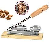 PiggiesC Nut Cracker Tool Heavy Duty Pecan Walnut Sheller Nut Opener Kitchen Gadget Metal