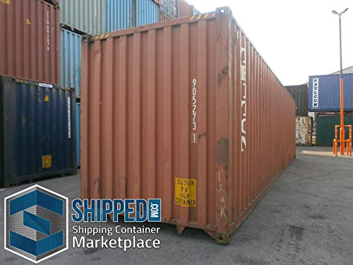40ft Used One Trip General Purpose Steel Shipping Container in Glendale, California/Secure Outdoor, Portable Storage Shed / 40' Cargo Container/Container Home/Emergency Shelter/Vacation Home