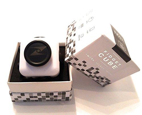 Z Cube - Fidget Cube (White w/Black) (Halloween Physical Education Games Preschool)