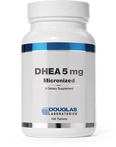 Douglas Laboratories® - DHEA 5 mg - Micronized to Support Immunity, Brain, Bones, Metabolism and Lean Body Mass* - 100 Tablets