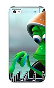 High Grade Jaime Olvera Flexible Tpu Case For Iphone 5c - Funny Character