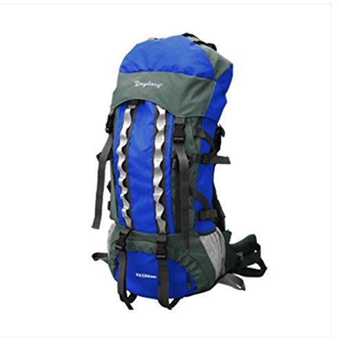 BUSL Al aire libre del alpinismo 60L bolsas mochila de gran capacidad de los hombres y mujeres escalables mochila de viaje . c d