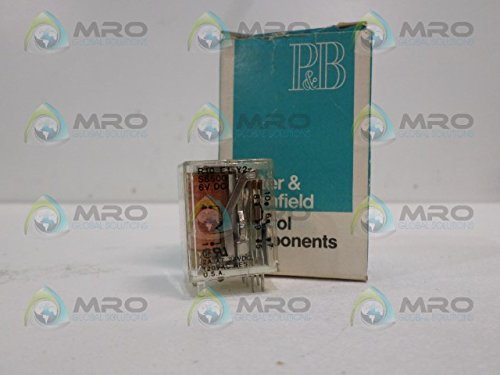 POTTER & BRUMFIELD R10-E1Y2-SS500 RELAY 6VDCNEW IN BOX
