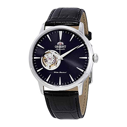 Orient Open Heart Automatic Black Dial Mens Watch ()