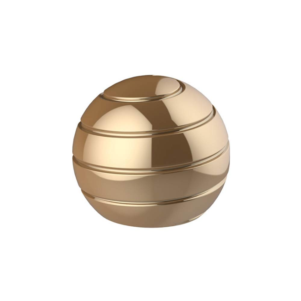 Pasizoe Home Office Desk Fidget Toy Visual Illusion Spinner Metal Ball Transfer Gyro 45mm 55mm, for Adults Kids Kill Time, Anti-Anxiety, Keep Focus, Relaxing by Pasizoe (Image #1)