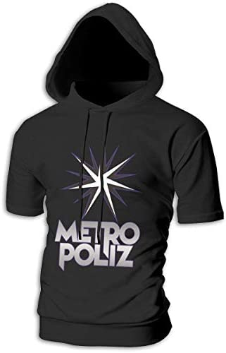 Tシャツ シャツ ティーシャツ スウェットシャツ パーカー ストレッチ メンズ 半袖 フード付き 三代目JSB METROPOLIZ スポーツtシャツ 吸汗速乾 トレーニング ジムtシャツ 通気性 黒