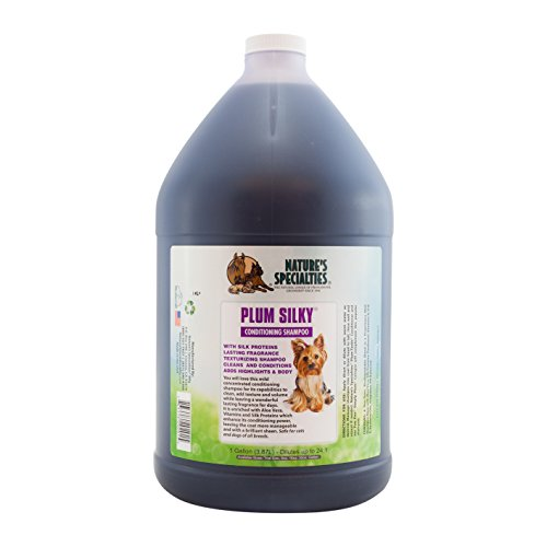 Nature's Specialties Plum Silky Shampoo for Pets