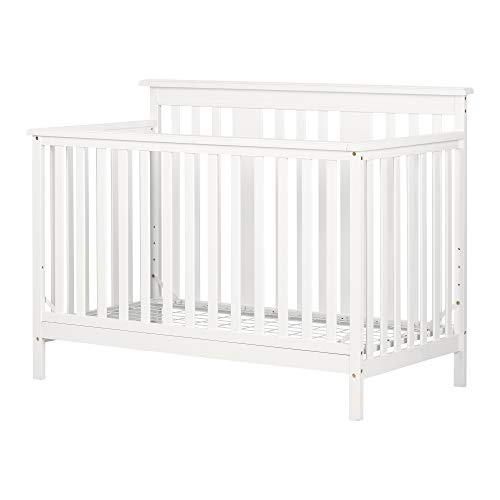 South Shore 11849 Cotton Candy Baby Crib 4 Heights with Todd