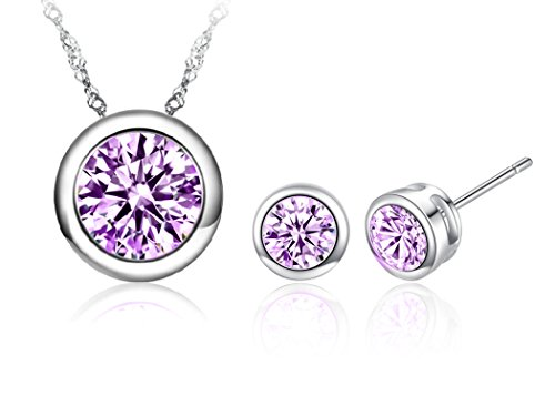 vaduga-aaa-zircons-pendant-silver-necklace-and-studs-jewelry-sets-antiallergic-purple
