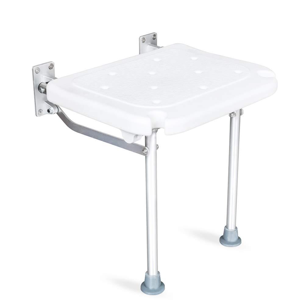 BEAUTY--shower stool, Accessibility Folding Wall Stool, Elderly and Pregnant Women Bathroom Non-Slip Bath Stool,Load Bearing 200kg