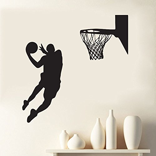 Cheap  slaveg Quote Mirror Decal Quotes Vinyl Wall Decals Acting Cool NBA Slam..