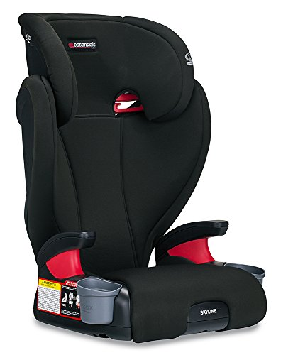 Britax Essentials Skyline Belt-Positioning Booster Seat, Dusk