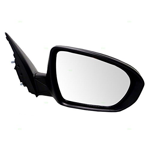 Passengers Power Side View Mirror Heated Signal Ready-to-Paint Replacement for Kia 876202T130