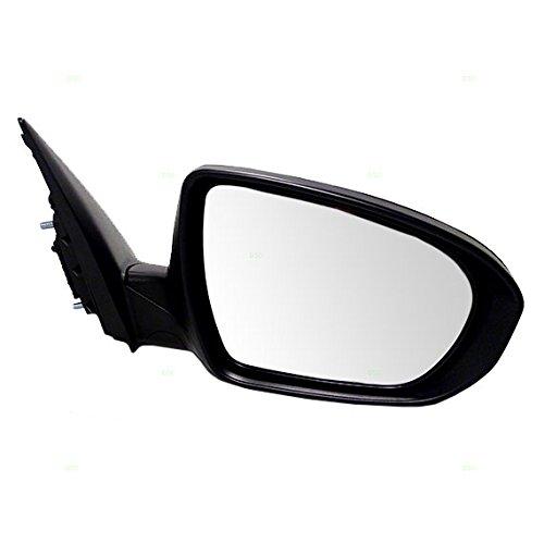 Passengers Power Side View Mirror with Signal Manual Folding w/o Heat fits 11-13 Kia Optima 876202T110