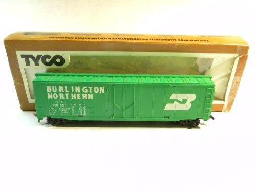 Tyco 339E Burlington Northern 50 Foot Box Car HO Gauge