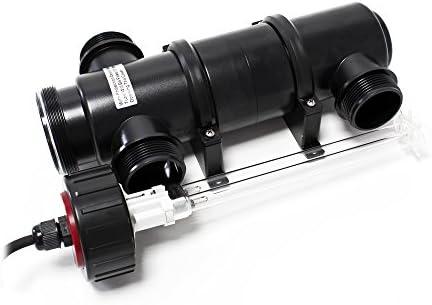 SunSun CUV-111 Clarificador de Agua para estanques 11W, Filtro UV para Agua Clara en estanques