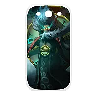 Zilean-001 League of Legends LoL case cover Samsung Galaxy Note2 N7100/N7102 Plastic White hjbrhga1544