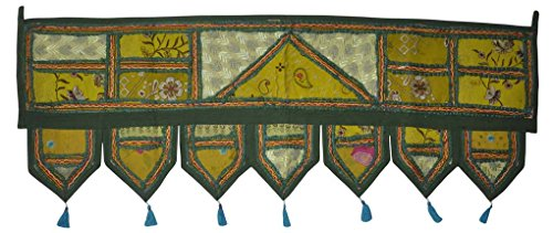Lalhaveli Indian Designer Home Decorative Cotton Door Hanging