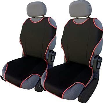Pair of Front SPEEDSTER Red//Black Car Seat Covers RENAULT MEGANE COUPE