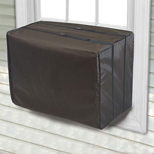 Jeacent Window Air Conditioner Cover Large, Bottom Covered