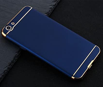 finest selection 4ec0b c86b8 XORB Electroplating Back Cover for Oppo F1 S (Blue)