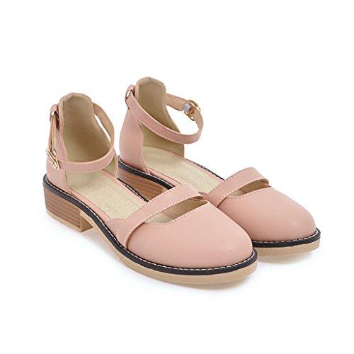 La ocio la primavera de el parte el hueco verano y Pinkred femenino de con sandalias rnrfWH8