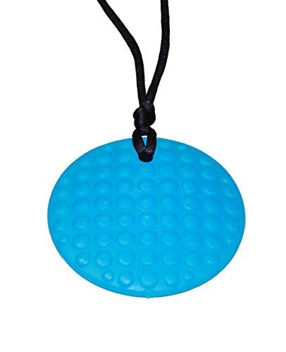 KidKusion Gummi Teething Necklace Turquoise product image