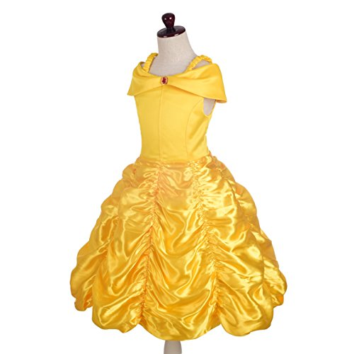 Dressy Daisy Girls' Princess Costumes Dress Up Halloween Birthday Fancy Party Dresses Size 18M-12