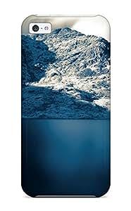 Hot Fashion CLnvCLX11714TRoRm Design Case Cover For Iphone 5c Protective Case (snow Mountains Sea Amp Digital)