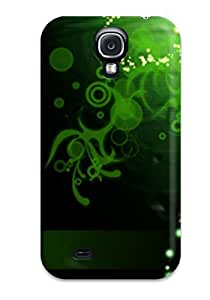 New Cute Funny Abstract Green Case Cover/ Galaxy S4 Case Cover