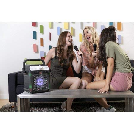 Create Fun,Lasting,Singable Moments with Cool,Colorful and Exciting Singing Machine Karaoke Cube Multi-Function Karaoke System with Dancing Lights,Makes a Great Gift by Generic (Image #5)