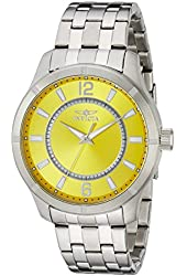Invicta Men's 19210 Specialty Analog Display Japanese Quartz Silver Watch