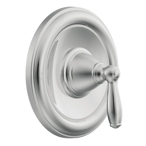 (MOEN T2151 Brantford PosiTemp Pressure Balancing Traditional Tub and Shower Trim Kit Without Valve, 1 count, Chrome (Renewed))